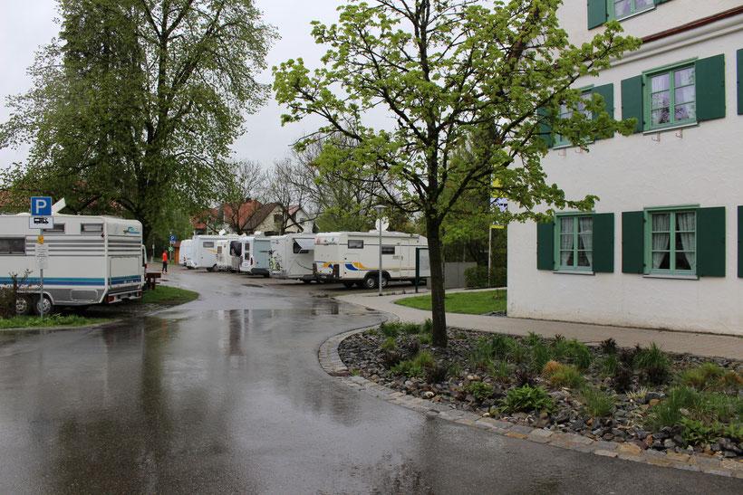 Wohnmobillstellplatz in Isny, die Nacht für 7.50 Euro