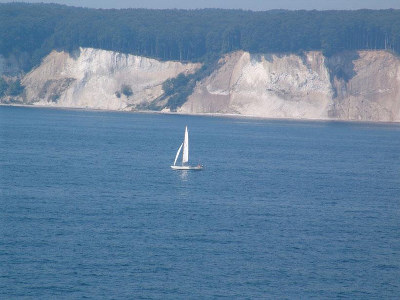 Die Küste vor Rügen