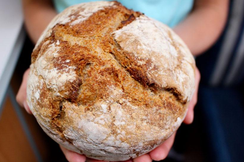 Wunderbares Brot aus dem B&B in Salen ... Danke Ellen!