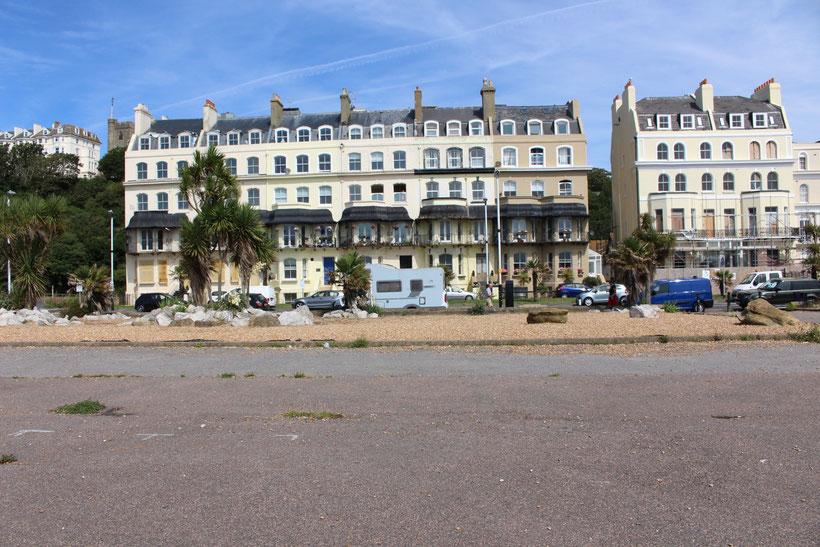 Am Strand in Folkestone