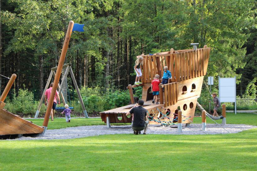 Spielplatz am Stellplatz Bannwaldsee