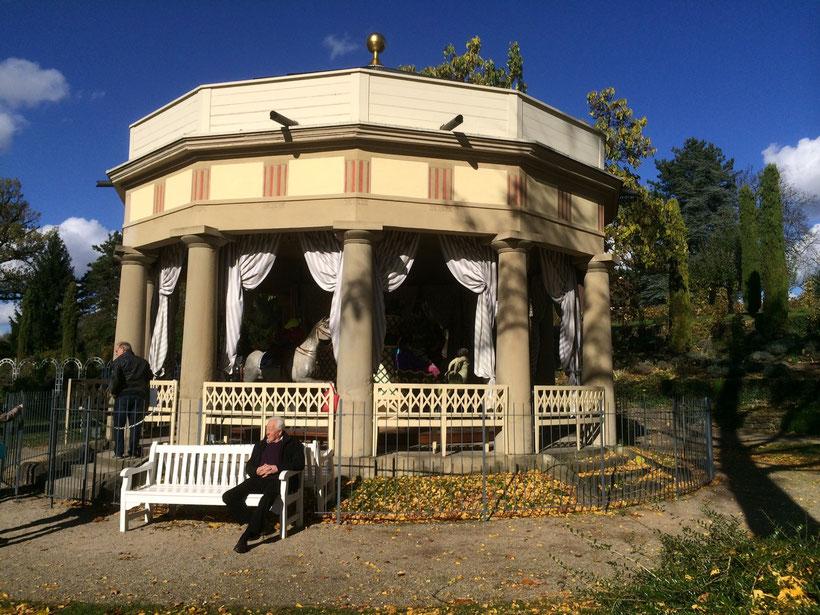 Historisches Karussell. Blühendes Barock, Ludwigsburg