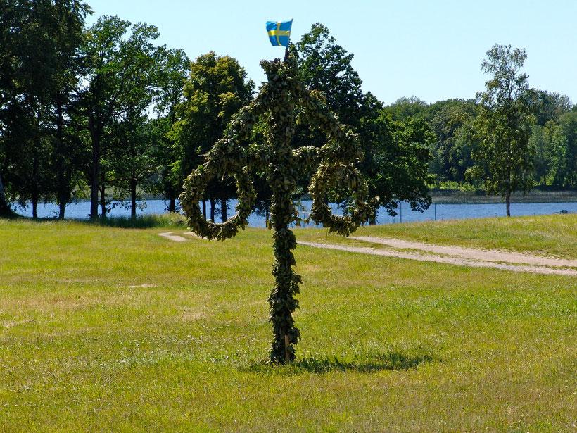 Den Campingplatz Getnö-Gard erreicht man über eine 10km lange Zufahrt,die durch Wald und an Seen entlang führt.