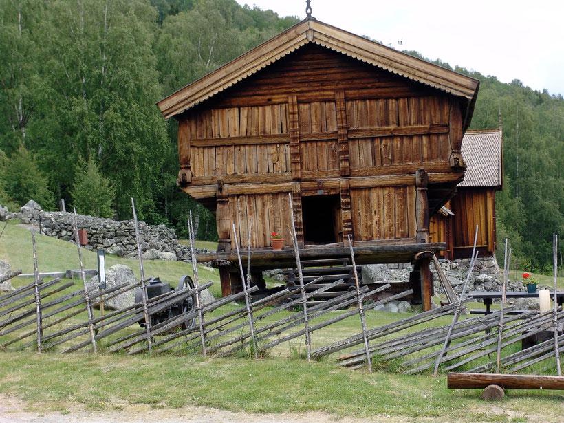 Das Bygdemuseum in Numedal