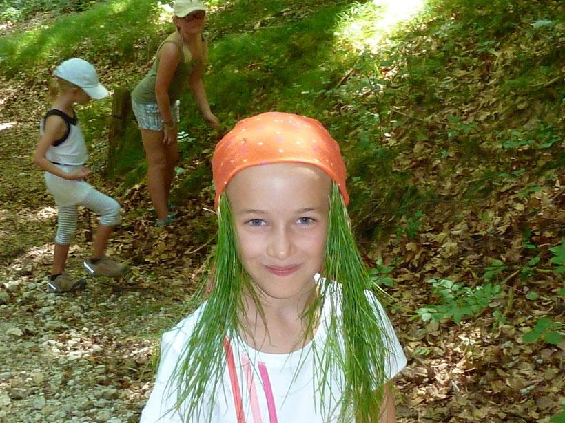 Waldnixe auf dem Römerpfad