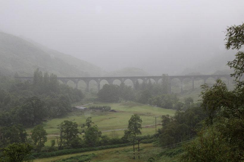 """Das Eisenbahnviadukt aus dem Film """"Harry Potter"""""""