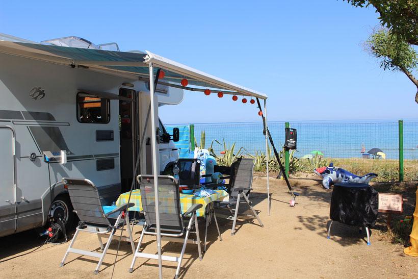 Camping Capo Ferrato, Costa Rei