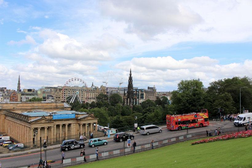 Blick über Edinburgh