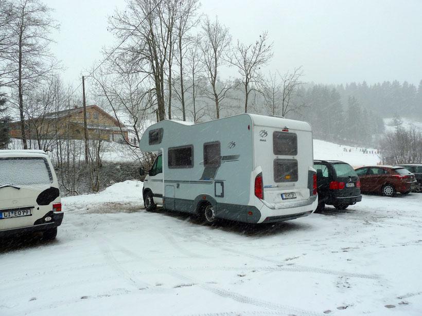Am Skilift Thalerhöhe Wiederhofen, Missen