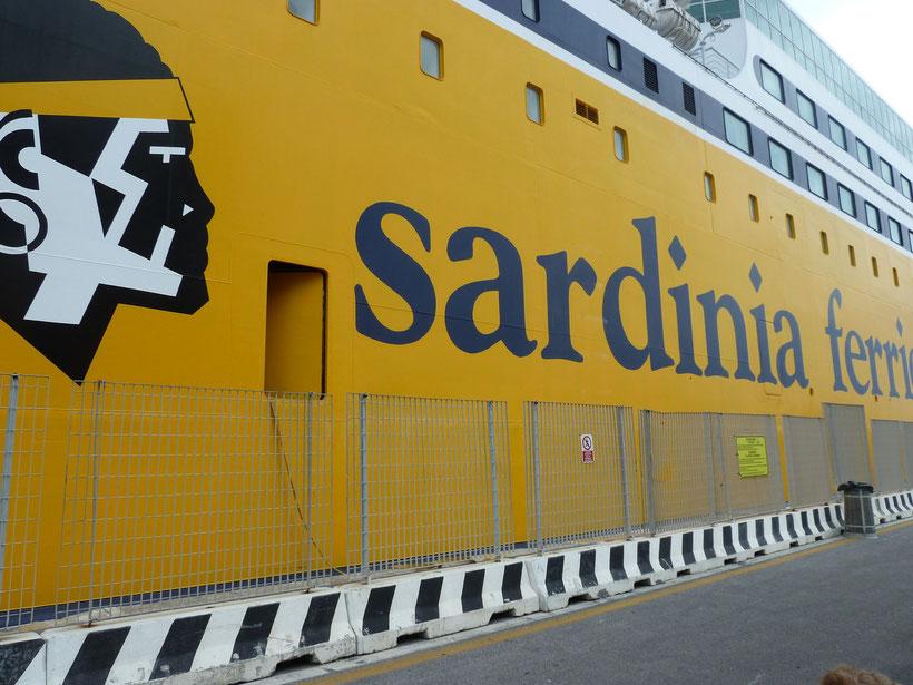 Mit Sardinia Ferries von Livorno nach Golfo Aranci