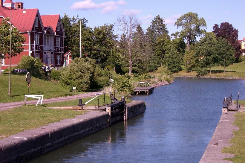 Borensberg, Göta-Kanal