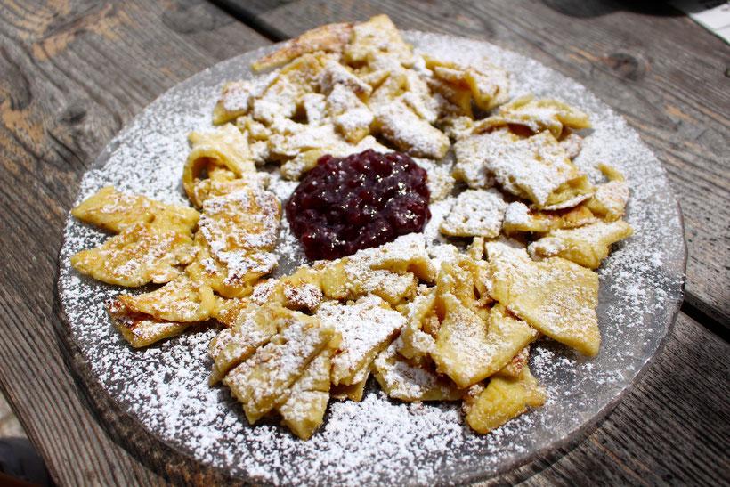 Kaiserschmarren mit hausgemachter Marmelade im Lenzenhof