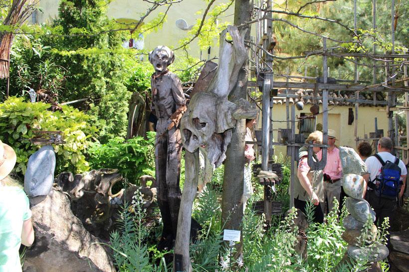 Kunst im Verbotenen Garten, Schloss Trauttmandsorff, Meran