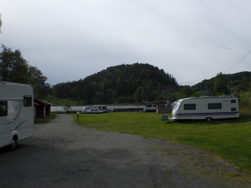 Kleiner Campingplatz, großer Preis. In Feda
