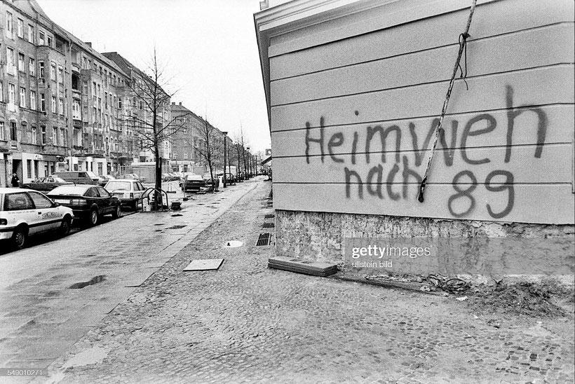 Foto©, Gerd Danigel, Heimweh nach 89, 1992