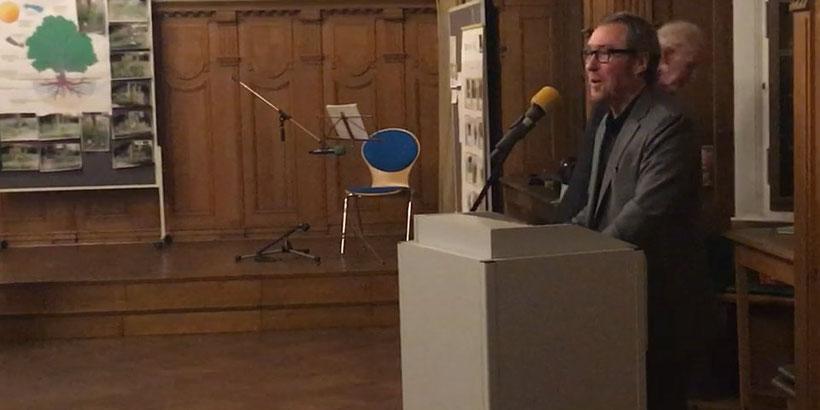 Agenda Preisverleihung 2019 - Moderator Jürgen Pohl - Lokale Agenda 21 Recklinghausen