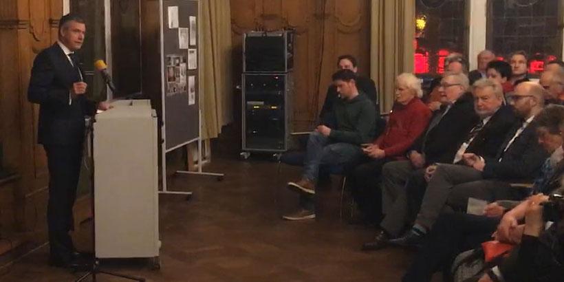 Agenda Preis Verleihung - Bürgermeister Christoph Tesche - Lokale Agenda 21 für Recklinghausen