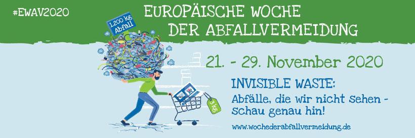 Europäische Woche der Abfallvermeidung 2020 - Lokale Agenda 21 Recklinghausen