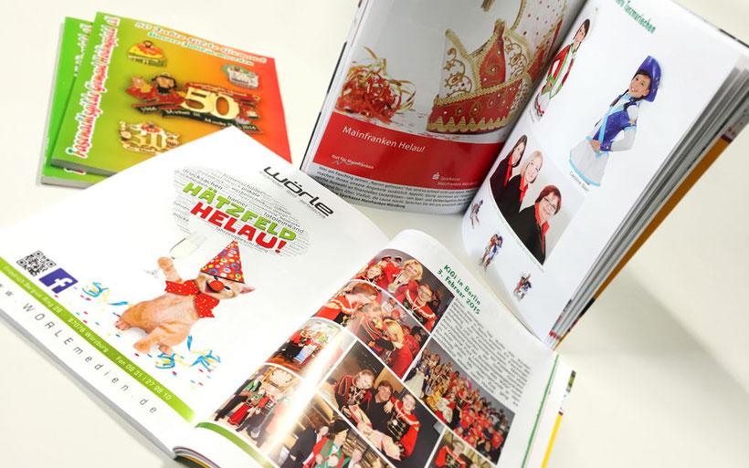 Druck Magazin, Vereinsheft, Katalog, Softcover