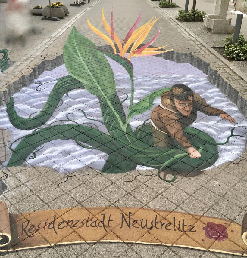 Neustrelitz 3D-Malerei, Residenzstadt