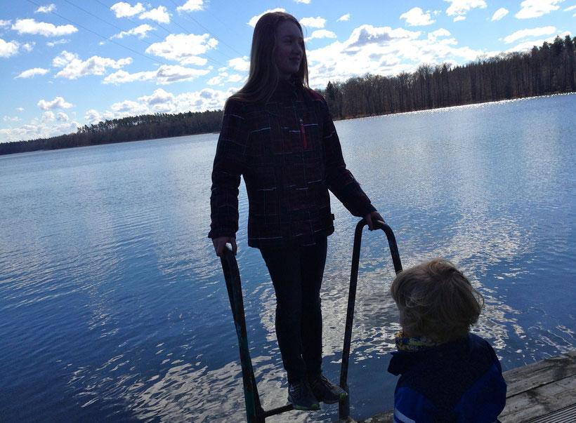 Drewensee, Mecklenburg, MV, Kinder am See, Urlaub mit Kindern