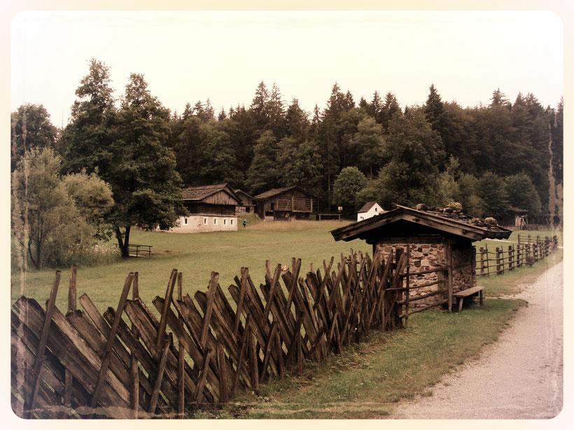 Osttiroler Höfe im Museum Tiroler Bauernhöfe in Kramsach