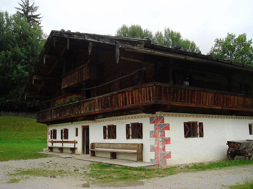 Hörl Hof vom Walchsee im Museum Tiroler Bauernhöfe
