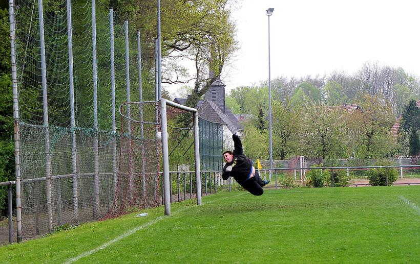 Germania Stromberg Sportplatz Torhüter