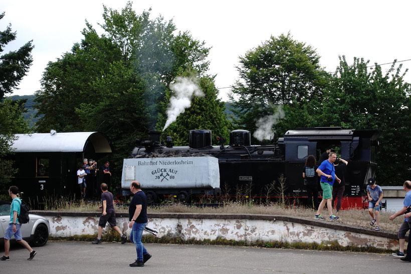 Museumseisenbahn Losheim Niederlosheim Blitzlichtkabinett Merzig Saarland