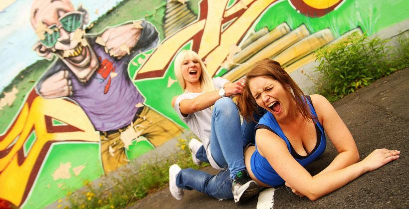 Shooting mit Sophia und Jasmin in Kassel (2014)