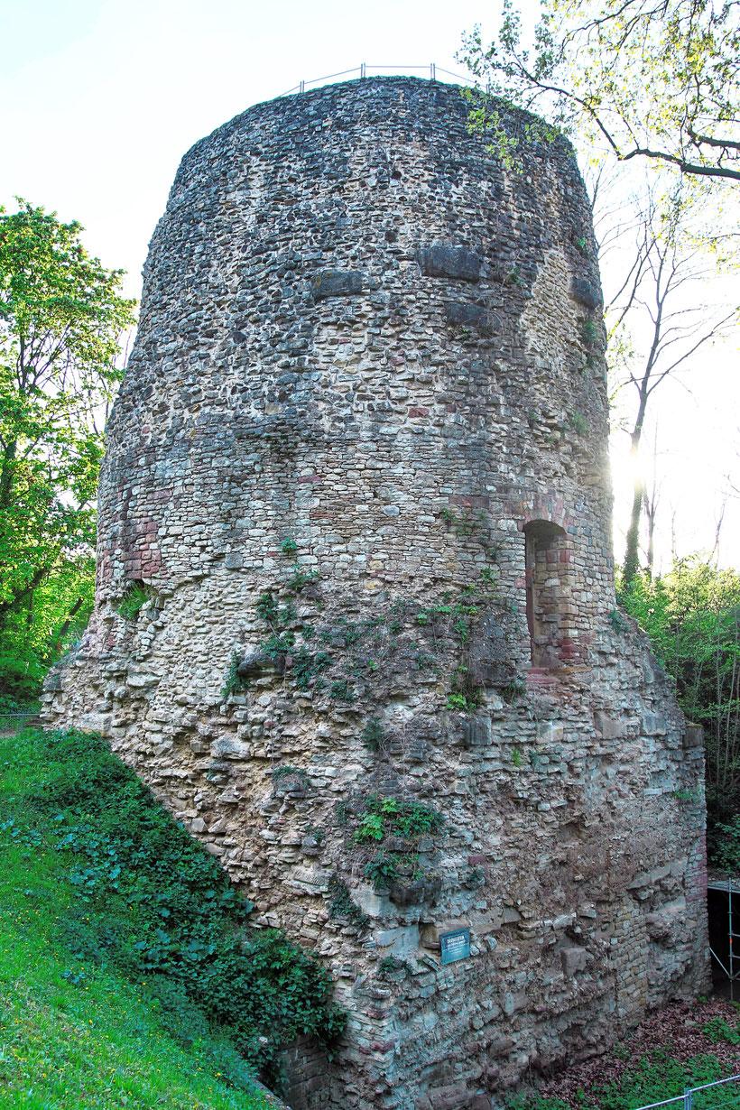 Drususstein Zitadelle Mainz
