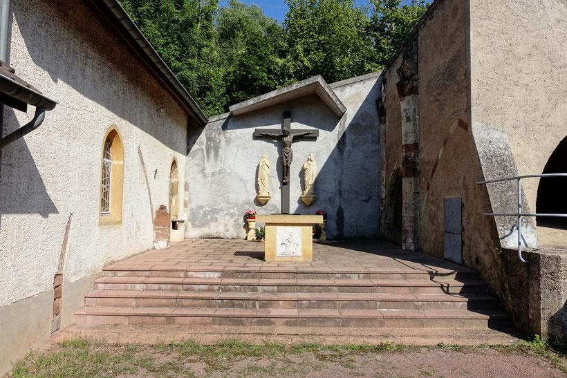 Marienfloss, Sierck-les-Bains, Blitzlichtkabinett, moselle, grandest