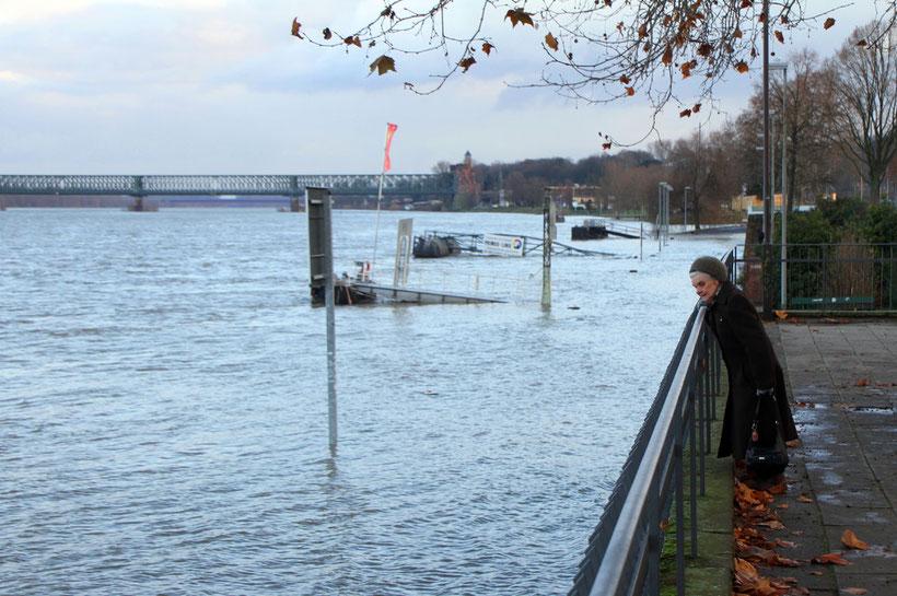 Hochwasser im Dezember 2010