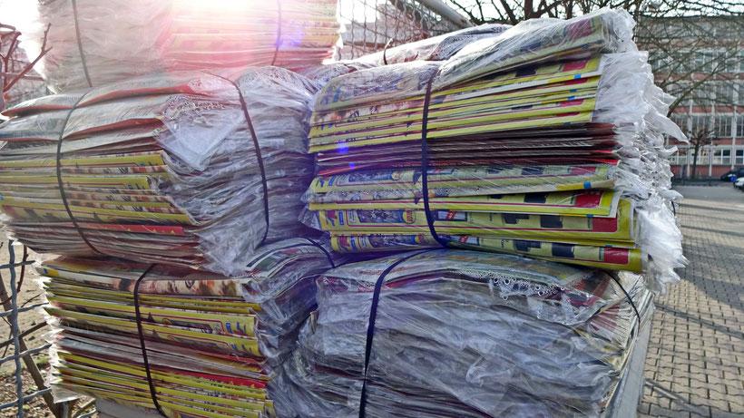 Zeitungen austragen