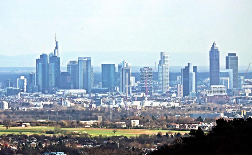 Frankfurt Skyline Mainhatten
