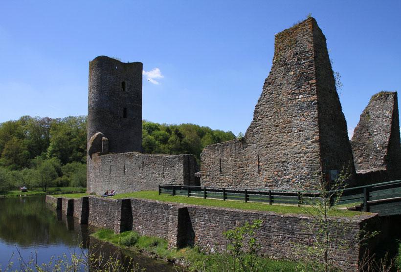 Burgruine Baldenau im Hunsrück