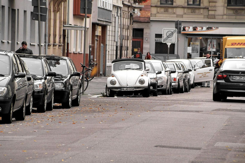 www.blitzlichtkabinett.de Mannheim VW Käfer