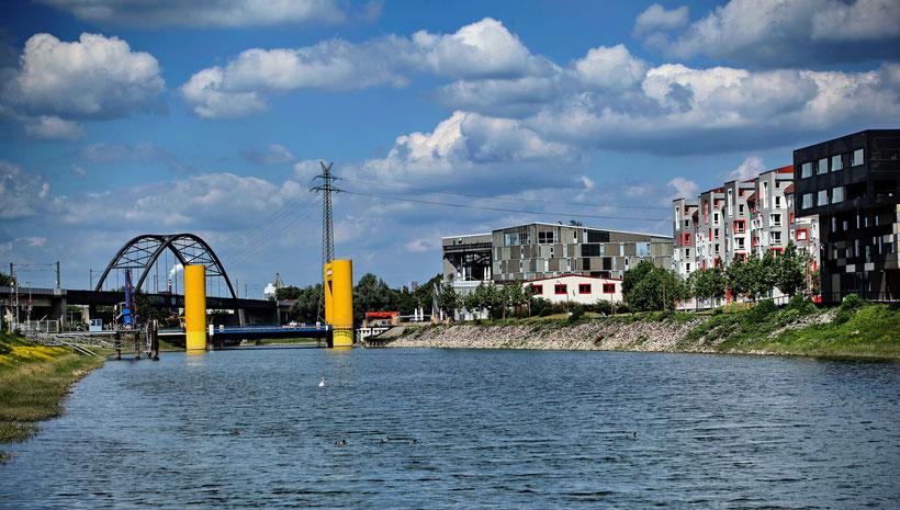 Mannheim; im Hafen (2015)