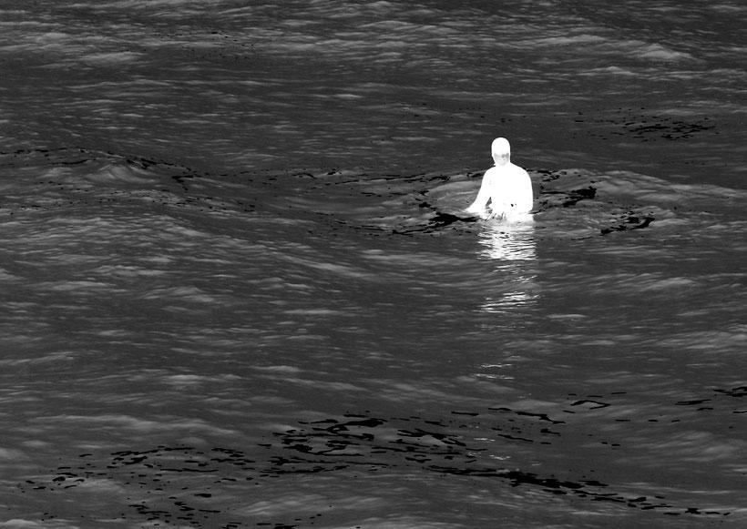 Der Mann aus Atlantis Scheveningen Holland Den Haag Blitzlichtkabinett