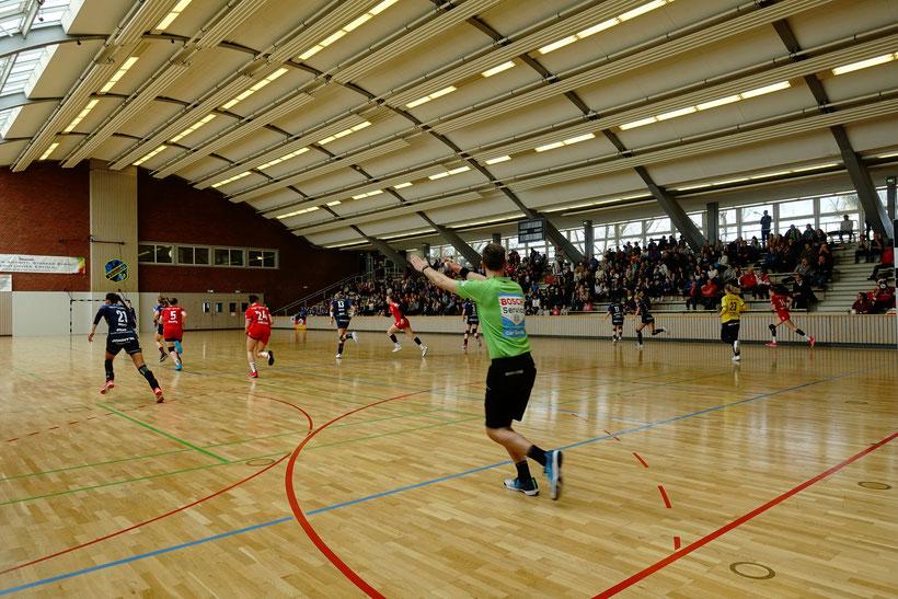 Sporthalle am Elsässer Platz in Wiesbaden
