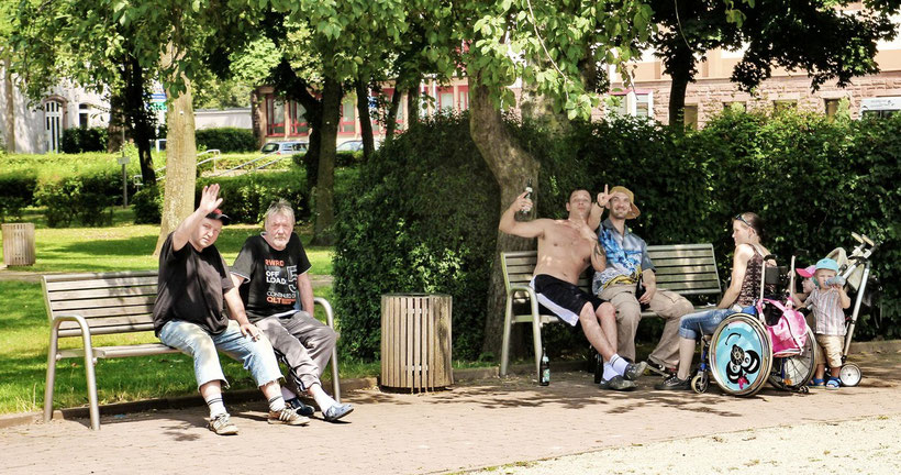 Spaß im Stadtpark Dillingen (2013)