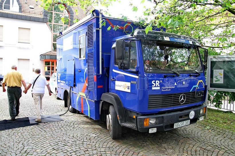 Mercedes-Benz 1120,  201 PS Sechszylindermotor, 11000 kg aus St. Ingbert (2013)