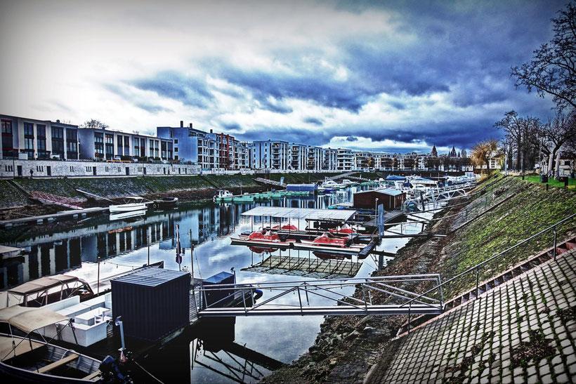 Winterhafen Mainz