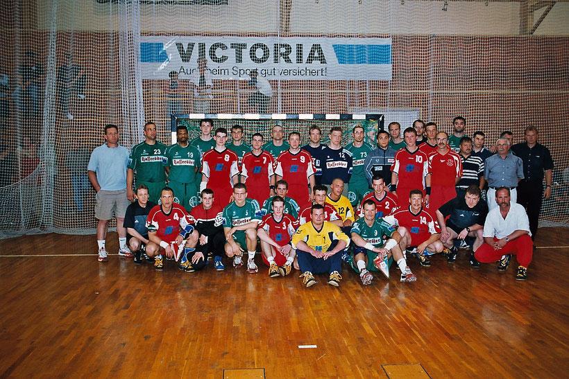 Highlight in der Hölle-West im Januar 2003 - Der SC Magdeburg zu Gast in Brandenburg