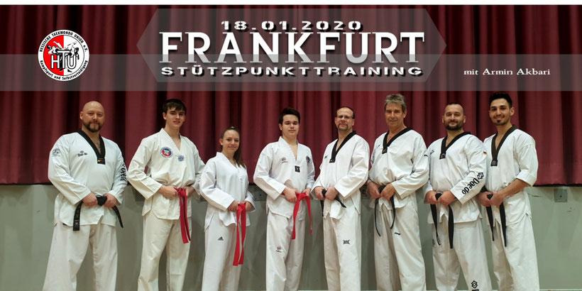 Stützpunkttraining Frankfurt, 18.01.2020 mit Armin Akbari