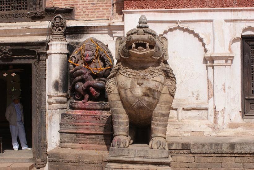 Divinités hindouistes, Patan, Katmandou, Népal