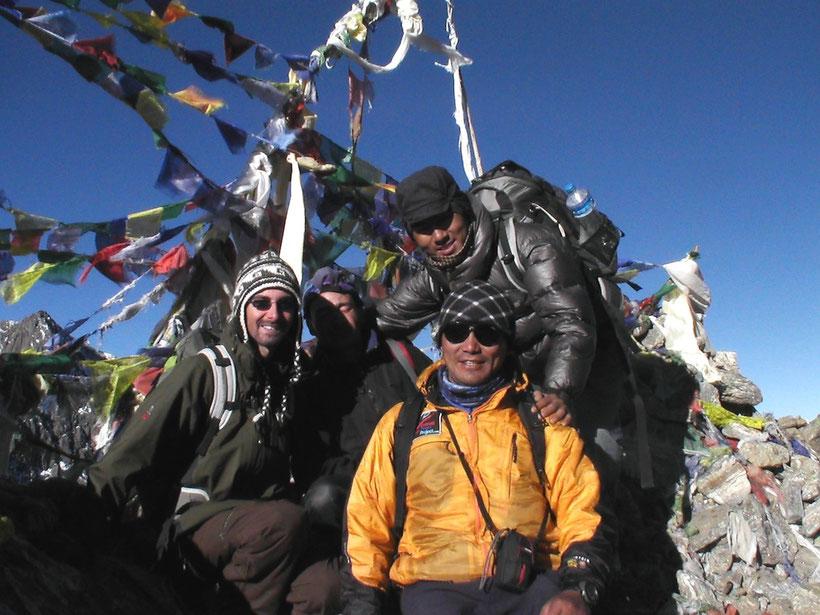Groupe de trek, Langtang, Népal