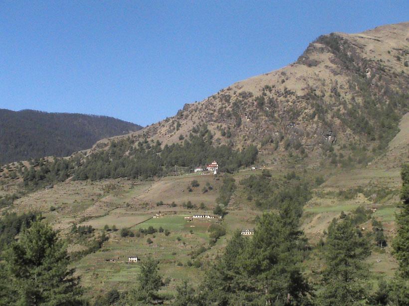 Trekking, Monastère Nainithal, Khumbu, Everest Népal