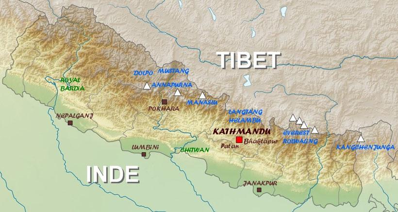Voyage et trekking au Népal