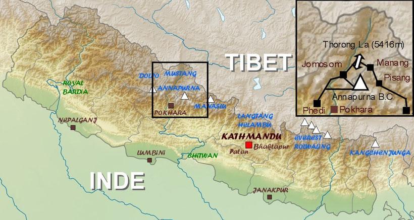 Grand tour des Annapurna Népal
